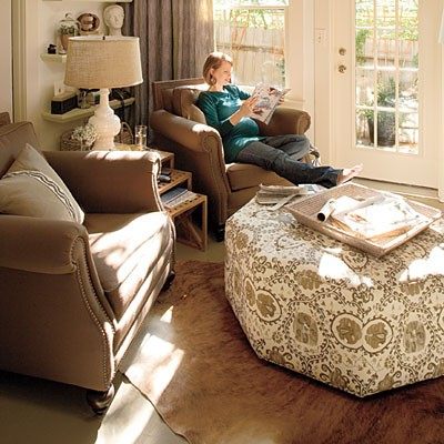 Small Den Decorating Ideas
