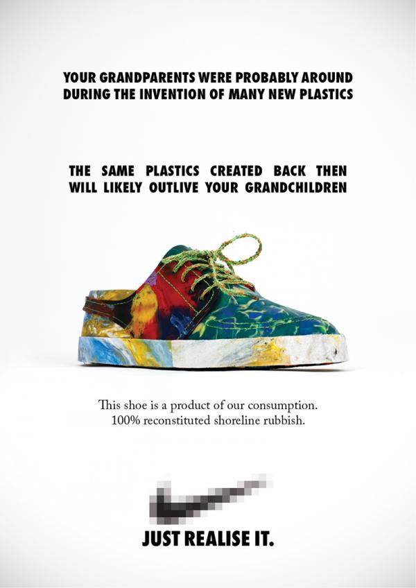 Zapatillas Fabricadas con Desechos Plasticos