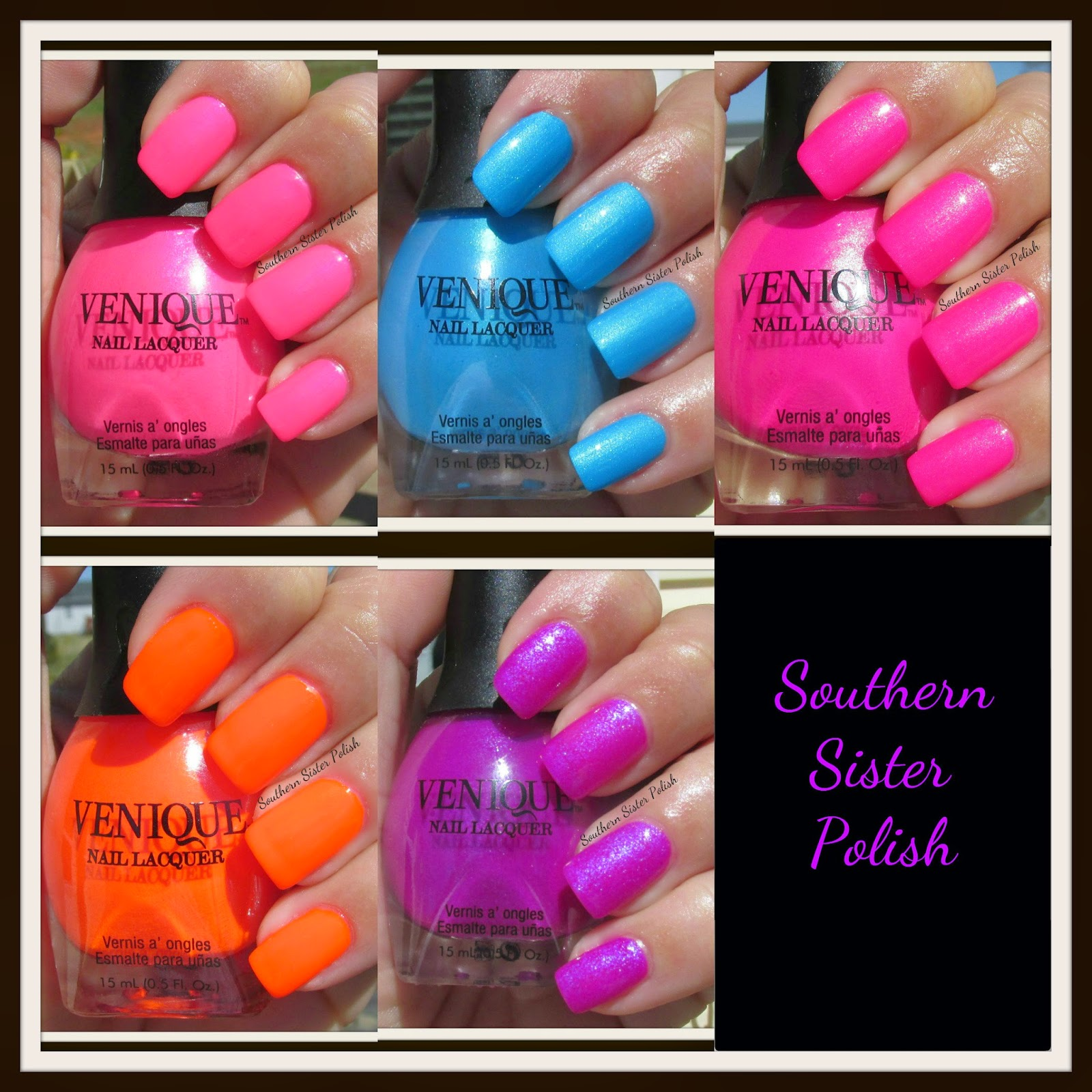 I Can T Wait To Try A Little Nail Art With Them For More Info On Venique Click Here Leave Me Comment And Tell What Y All Think Of These Polishes