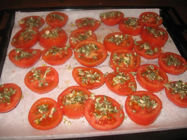 fare pomodori forno