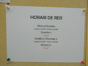 HORARI DE REIS