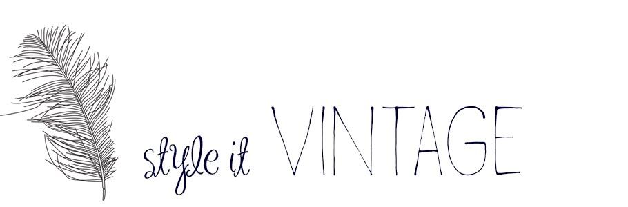 style it VINTAGE