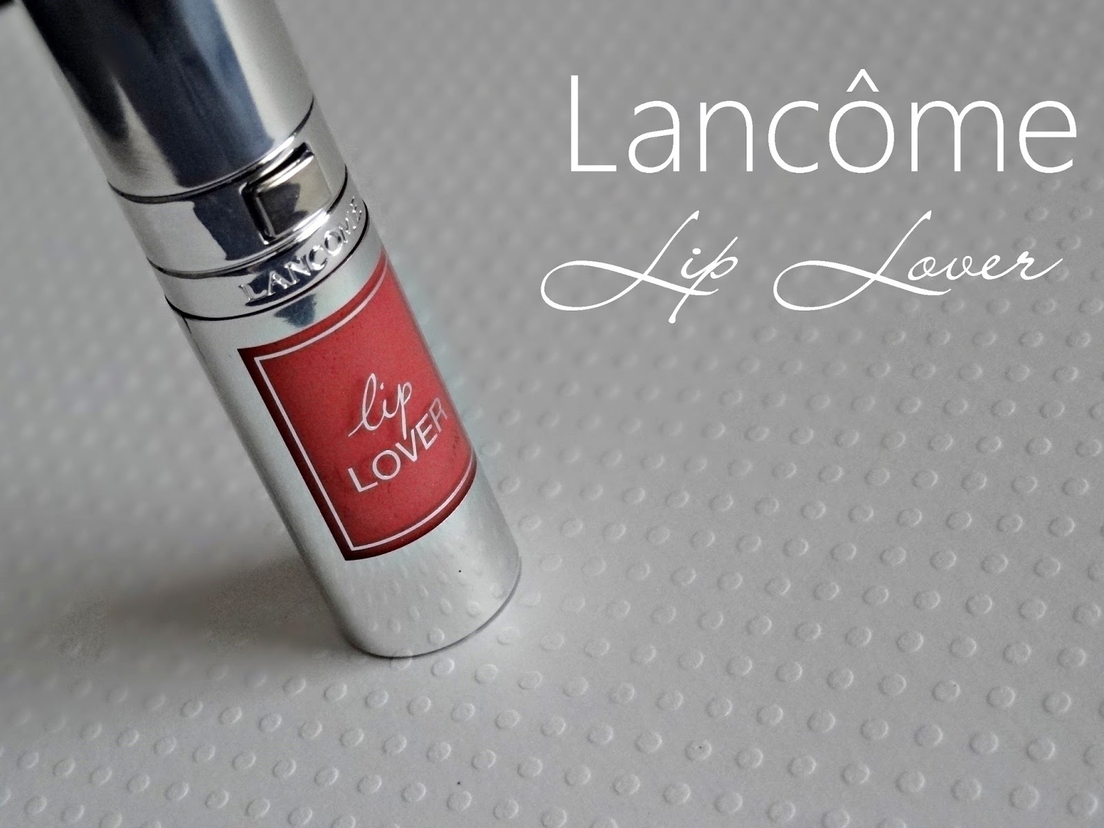 Lancome Lip Lover Dewy Lip Perfector in Beige Adage Review, Photos & Swatches