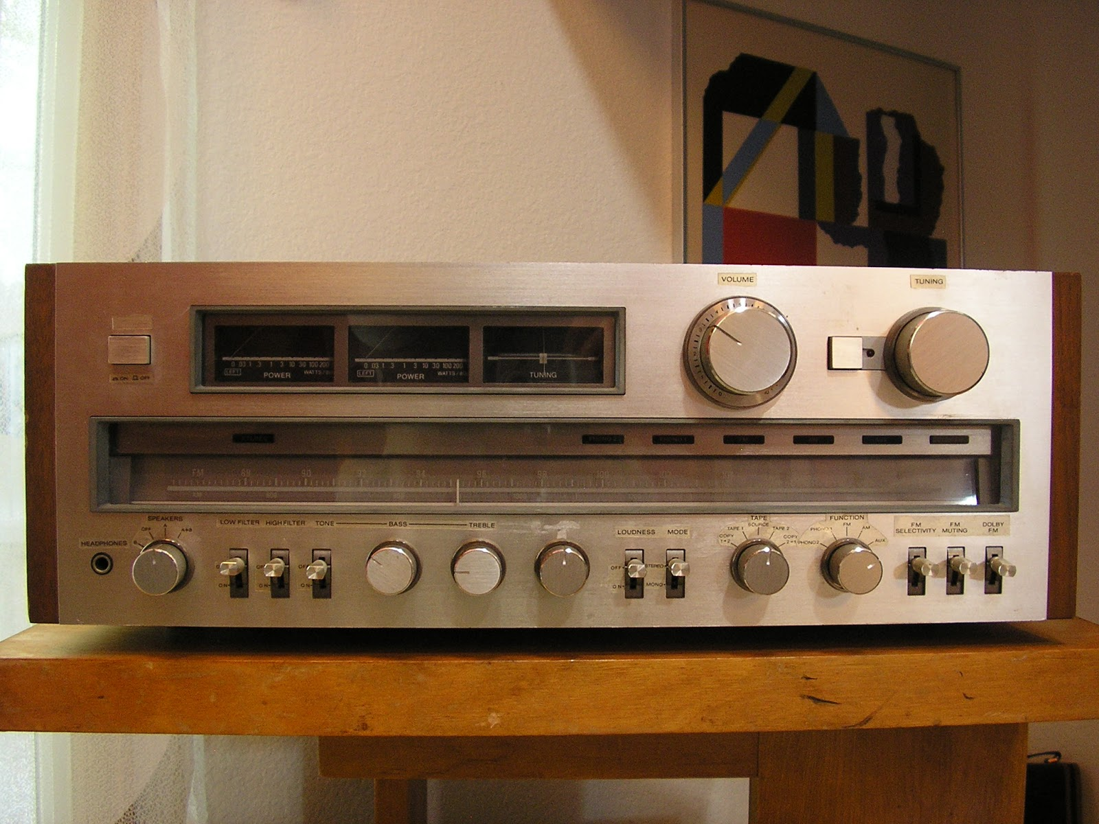 vintage sony receiver. swing:modern - vintage goods sony receiver