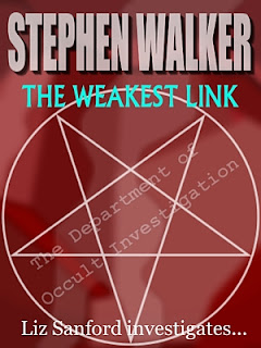 Stephen Walker, Liz Sanford, department of occult investigation, the weakest link, pentacle in a circle, amazon, kindle, download, short story