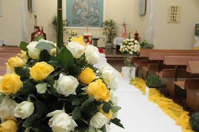 Decoração para casamento em Joinville