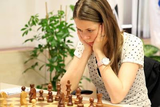 Echecs à Ankara - ronde 2: Tatiana Kosintseva (2524)- Photo Anastasiya Karlovich