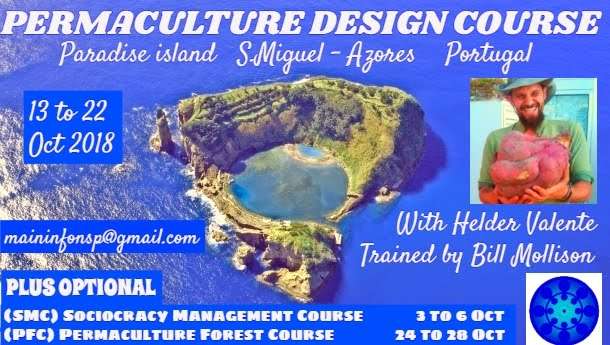 Permaculture Design Course in Paradise Island Azores Portugal