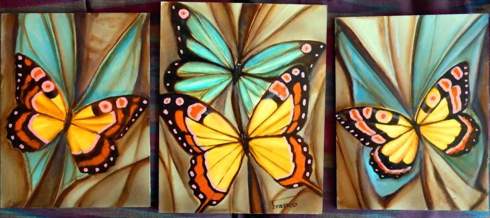 Cuadros modernos pinturas y dibujos dise os para pintar - Fotos cuadros modernos ...