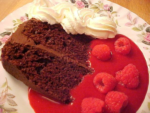 Gâteau chocolat chocolat