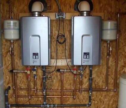 water heater rinnai gas