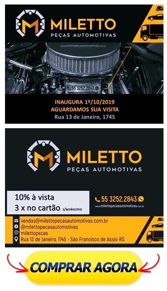 MILETTO PEÇAS AUTOMOTIVAS