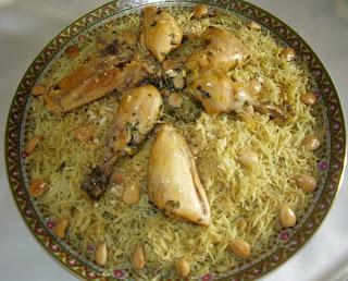 Recette du medfouna ou seffa Marocaine