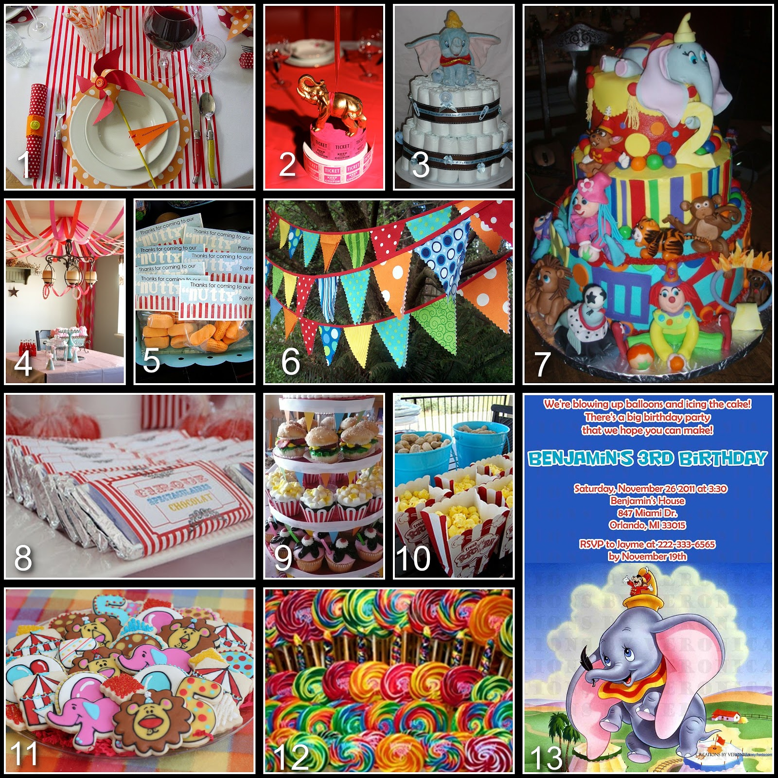 disney donna kay disney party board dumbo baby shower