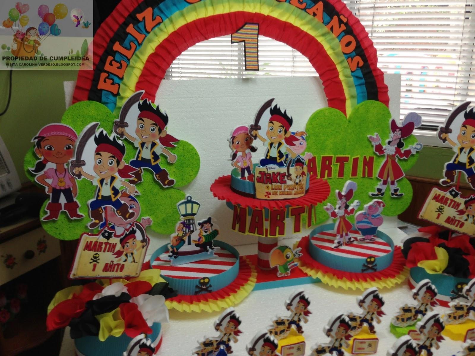 Decoraciones infantiles jake y los piratas de nunca jamas for Decoraciones infantiles