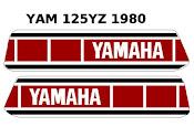 Deco vintage Moto Yamaha
