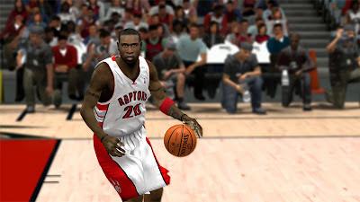 NBA 2K13 Mickael Pietrus Raptors Face Update