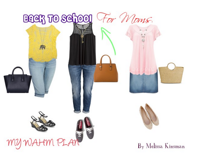 Back to school outfits for Moms