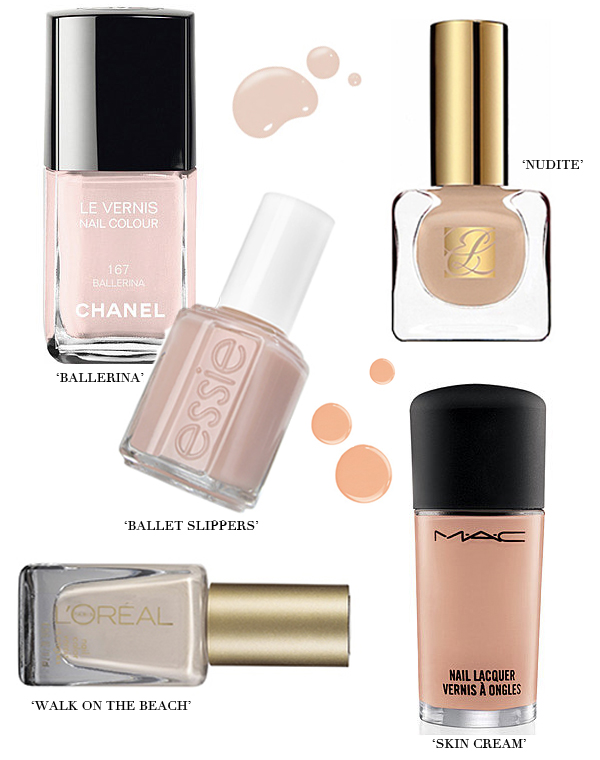 The top five nude nail polishes to try