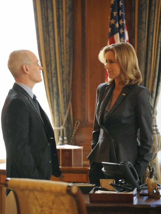 Zeljko Ivanek plays chief of staff to Tea Leoni's secretary of state on CBS' 'Madam Secretary.'
