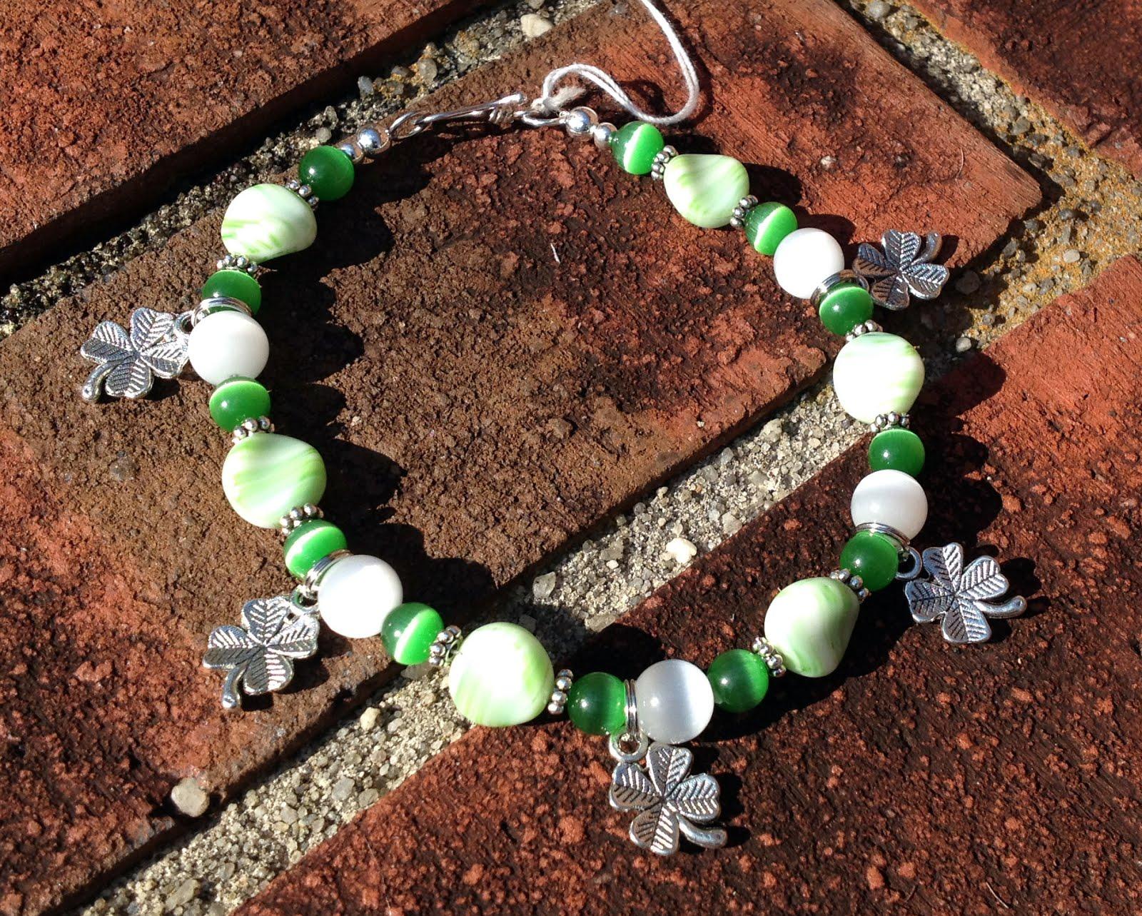 ~My St. Patrick's Day Bracelet~