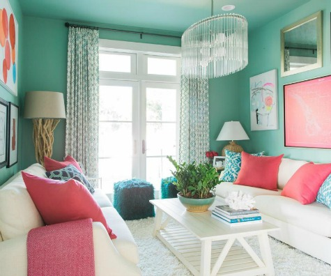 Coastal Pastel Colors