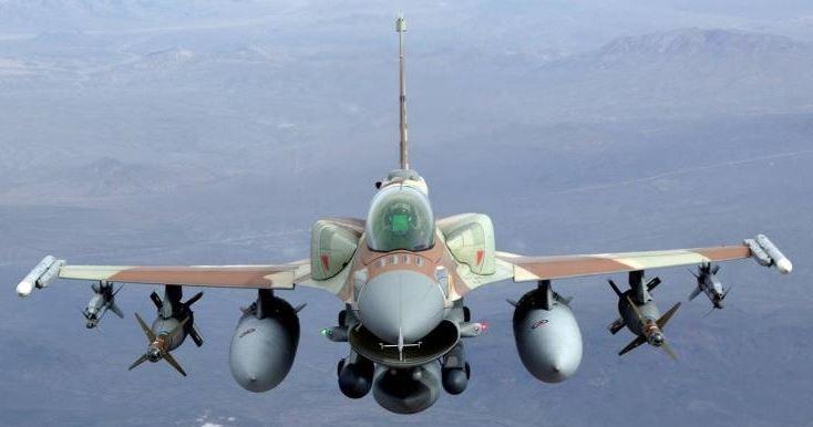 نقطة التعليق بالطائرة .. عاجل F16conformal