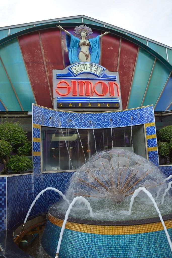 Simon Cabaret Phuket entrance