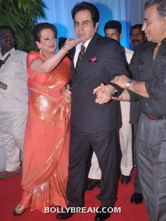 dilip kumar and saira banu - (2) - Couples at Esha Deol's Wedding Reception