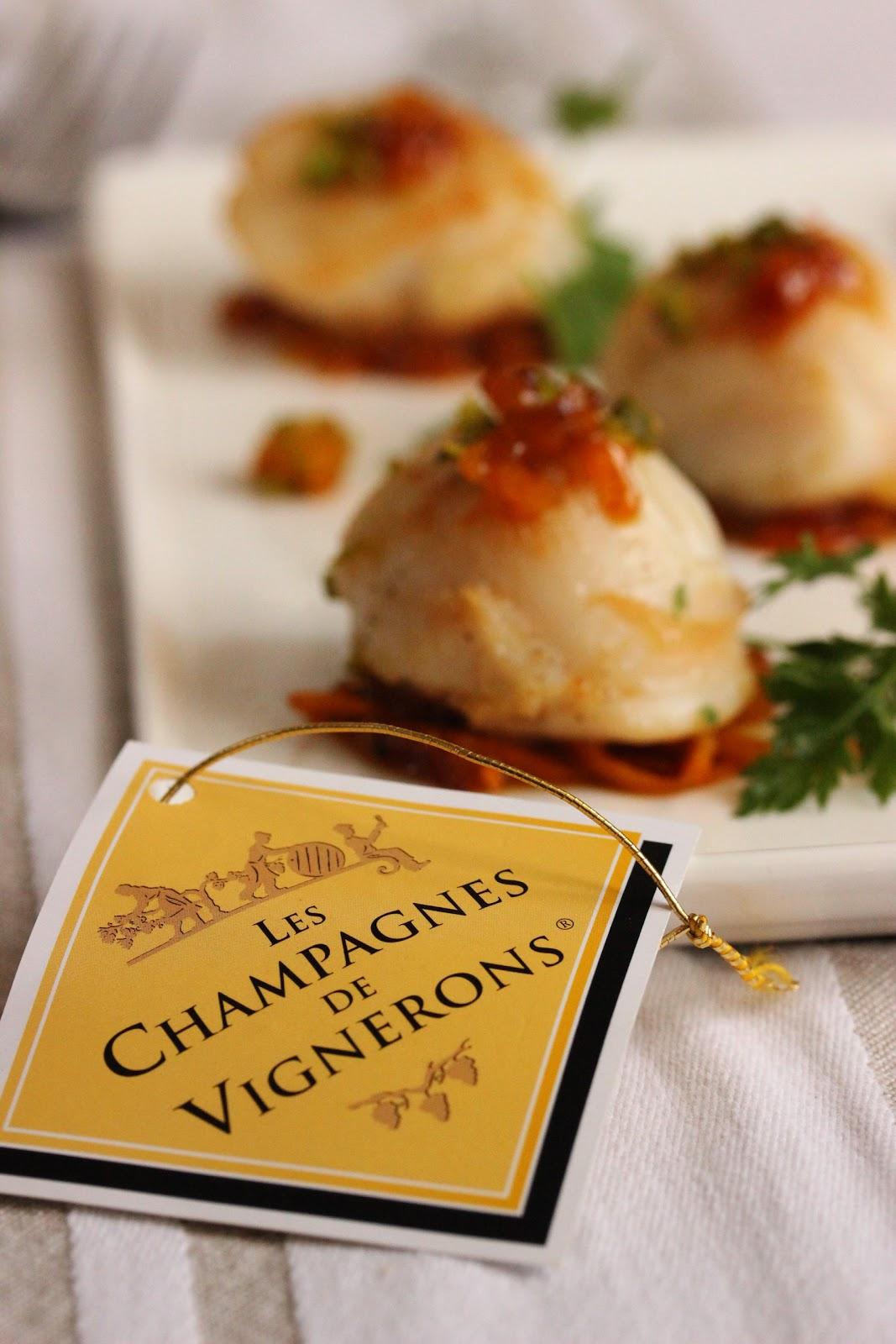 Jeu concours champagne en cuisine saint jacques aux oranges et abricots s - Jeu concours cuisine ...