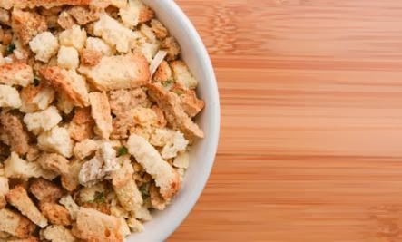Vegetarian Stuffing Even Meat Eaters Will Love (Recipe) - bread