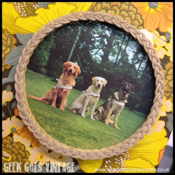 Kitsch Vintage Dog Tray