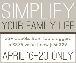 Smallworld april 2012 simplify your family life huge e book sale fandeluxe Choice Image