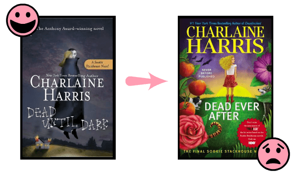 The Sookie Stackhouse Southern Vampire series by Charlaine Harris