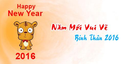 Ảnh chúc năm mới vui vẻ dễ thương nhất 2016 - ảnh 6