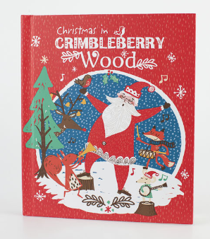 mamasVIB   V. I. BUYS: Your Christmas memories made easy with Marks & Spencer, V.I.BOOK   A Christmas Story by Mama   christmas journal   scrapbooking   first christmas   crimbleberry wood   marks and spencer  mamasVIB