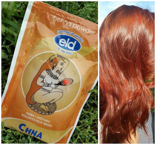 Kolory mojej głowy | Henna Eld w odcieniu CHNA - efekty koloryzacji | moja opinia.