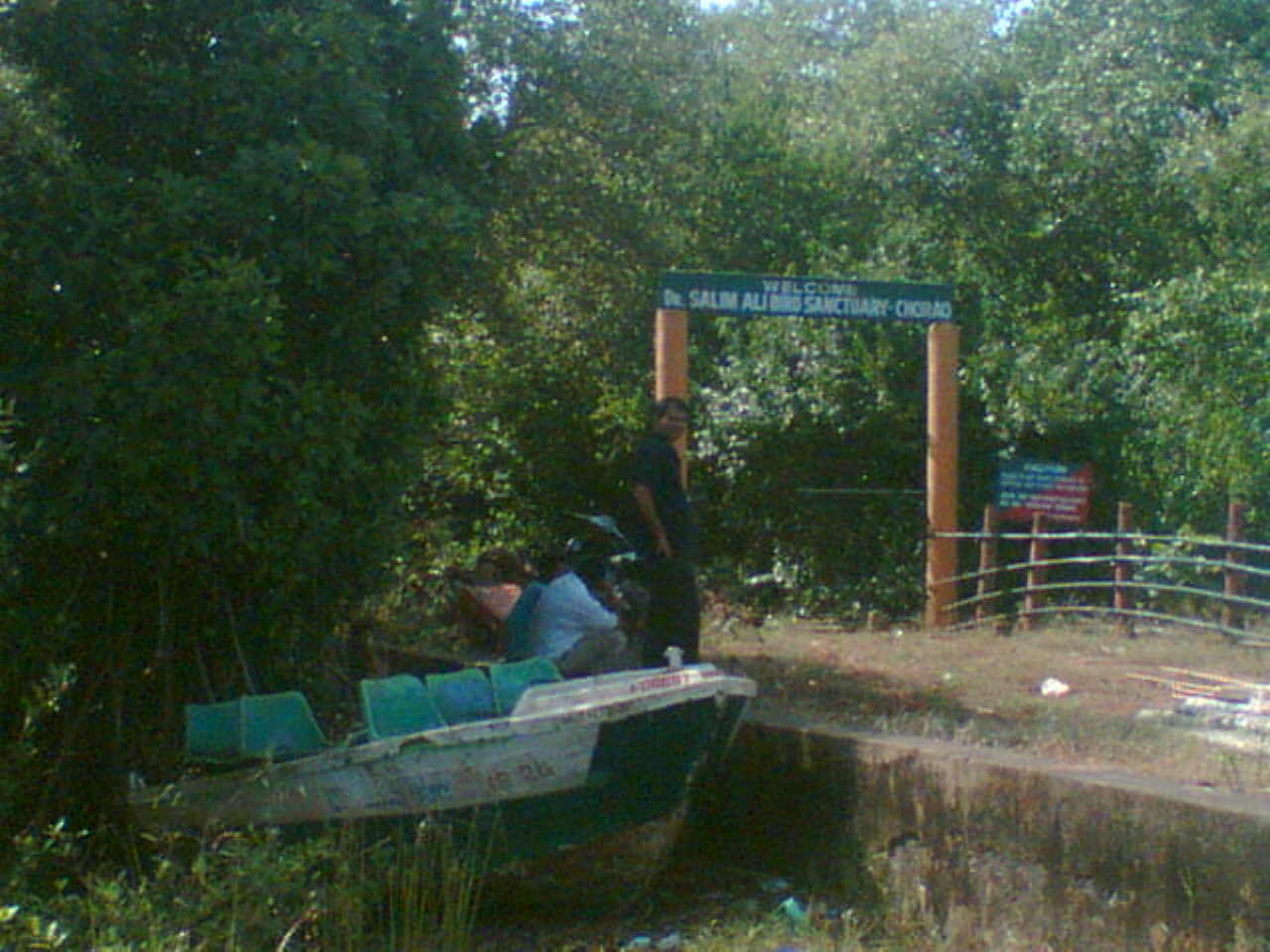 Salim Ali Bird Sanctuary in Goa Salim Ali Bird Sanctuary Goa