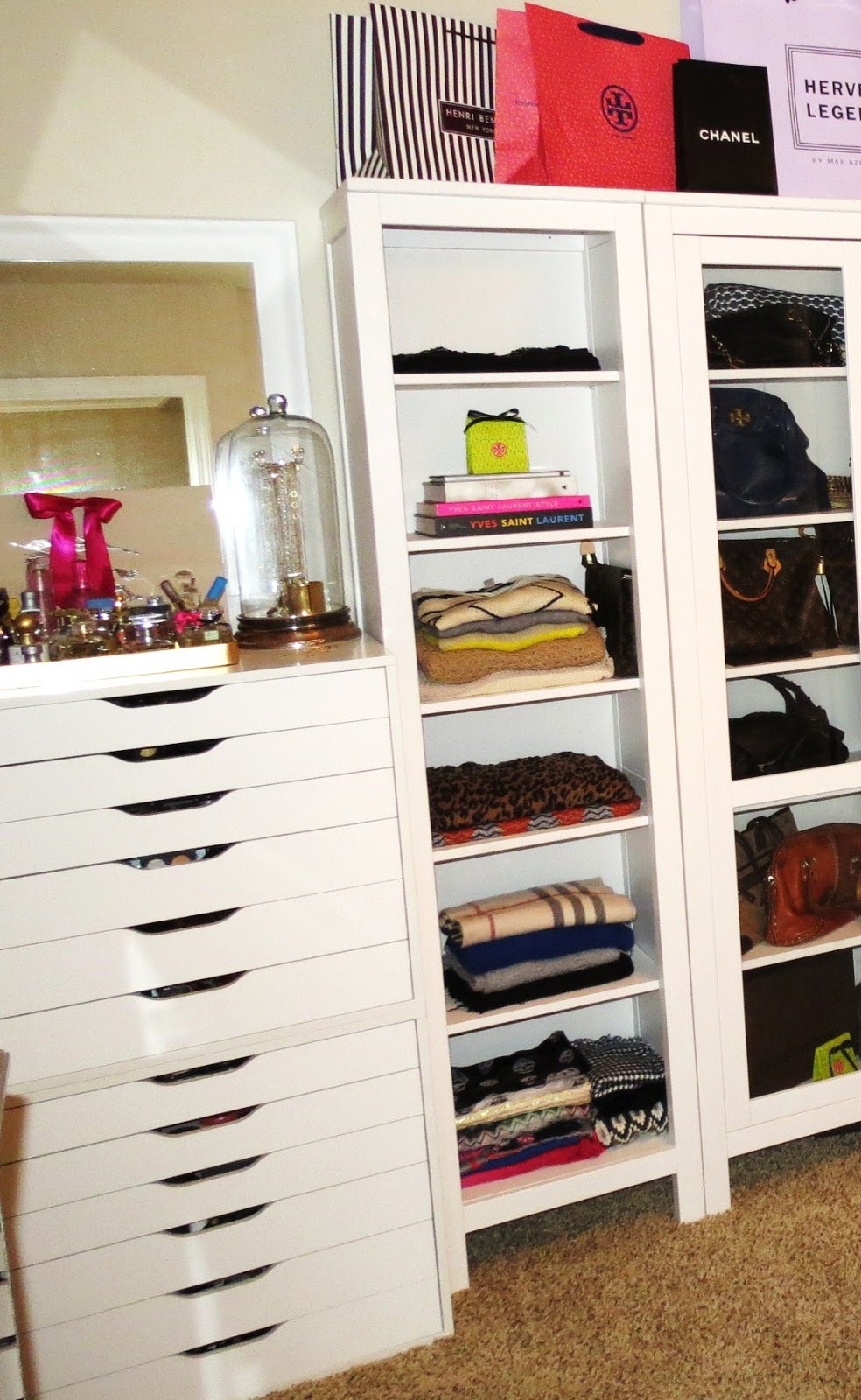 Superb I Actually Did Set Up All My Makeup In My Alex 6 Drawer Storage Units I  Showed A While Back In My Makeup Organization U0026 Collection Video.
