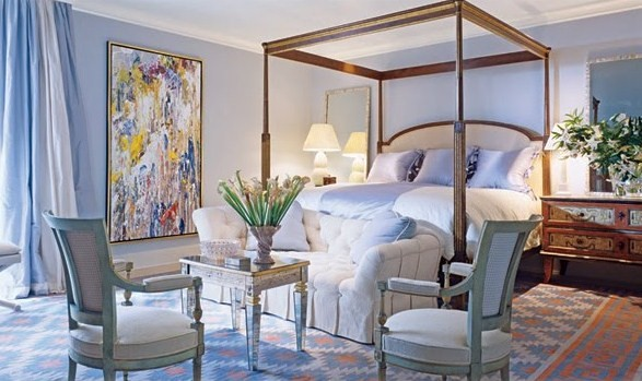 Abstract art bungalow home staging amp redesign