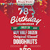 Krispy Kreme Excites Customers with its 78th Anniversary Treat