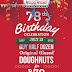 Krispy Kreme Excites Customers with its 78th Anniversary Treat