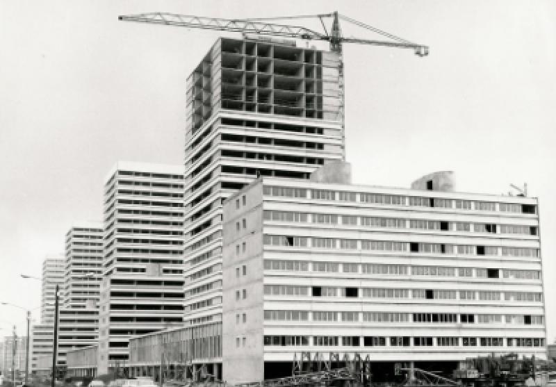Construction de la ZUP de Mons