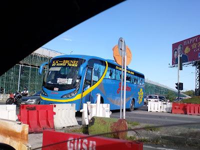 Bas pengangkutan Kota Kinabalu Brunei