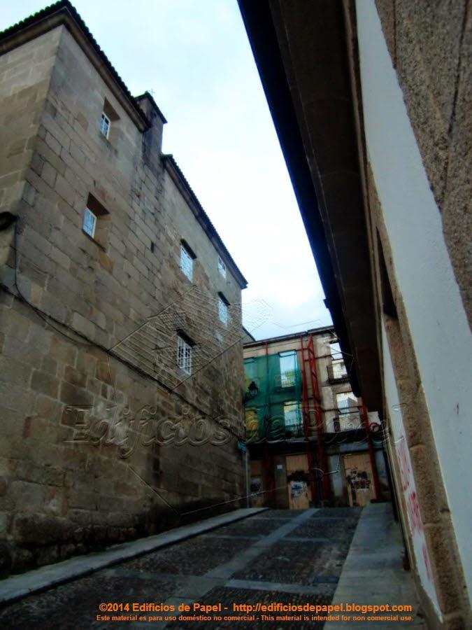 Calle Hernán Cortés, Ourense