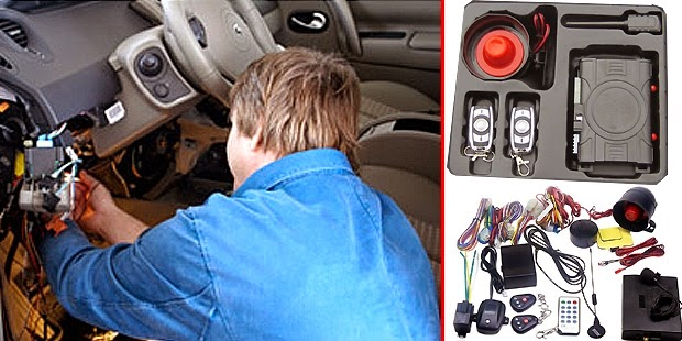 Cara Memasang Alarm Mobil yang Benar