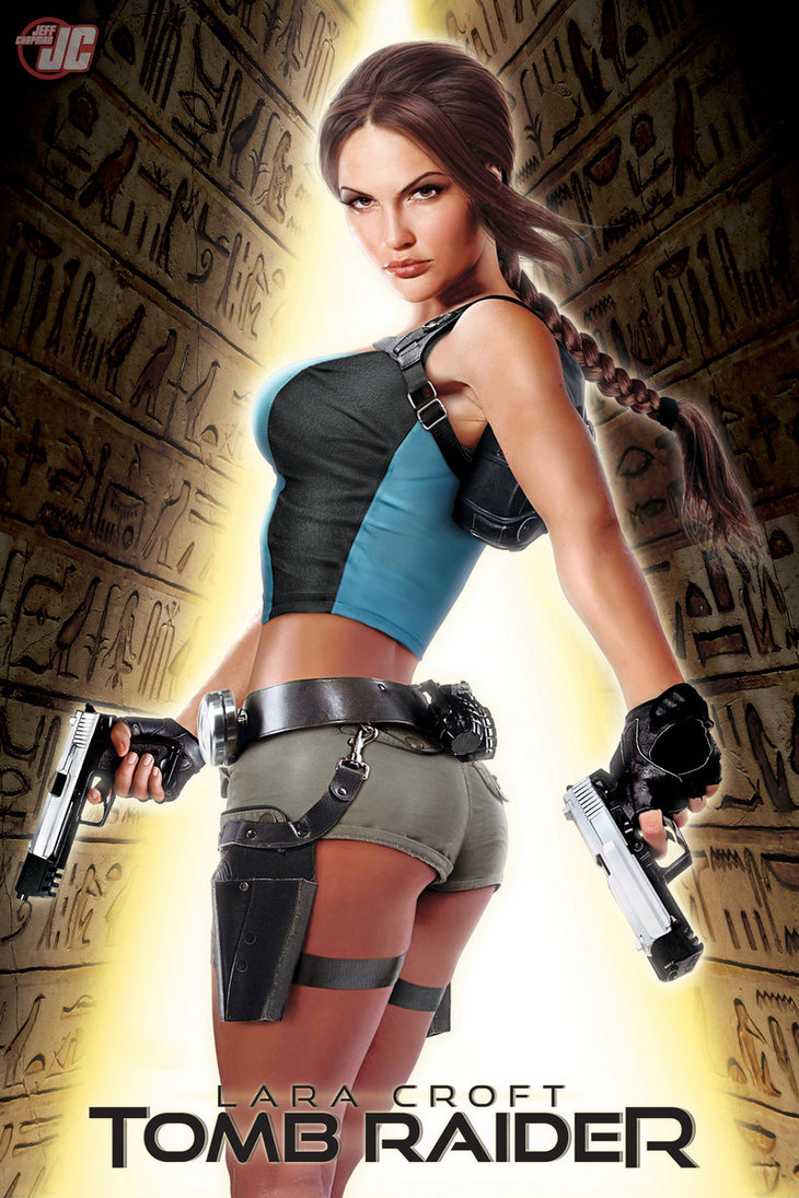 Lara Croft Commission Hot and Sexy as Tomb Raider