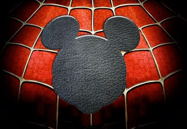 Spiderman vs Mickey