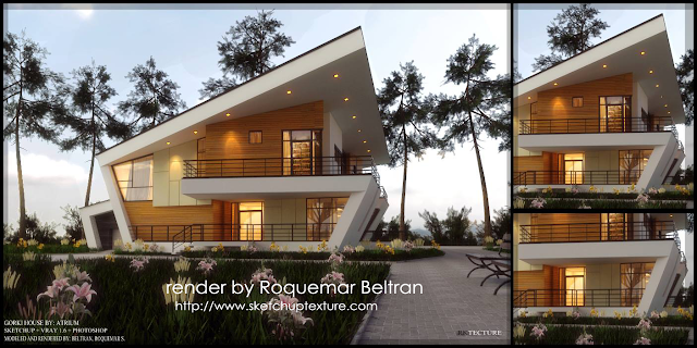 sketchup_model_gorki_house_vray_beta_render