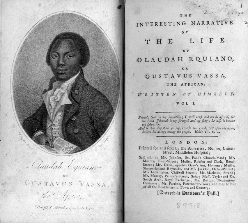 harriet jacobs and olaudah equiano The interesting narrative of the life of olaudah equiano, or gustavus vassa, the  african written by himself  jacobs, harriet ann, 1813-1897 incidents in the.